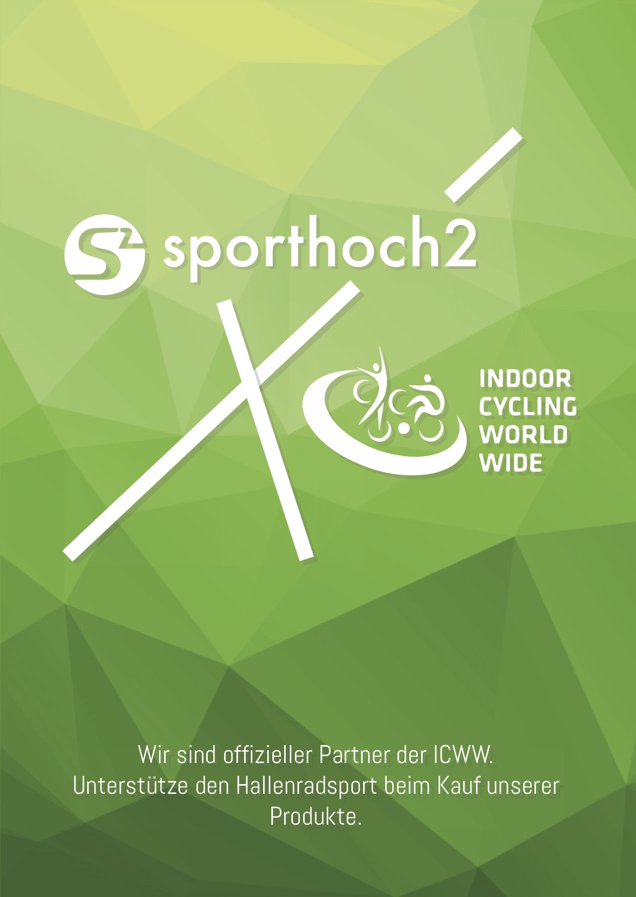 ICWW Merchandise Programm - Förderprodukte Hallenradsport