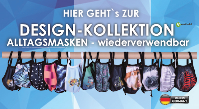 MOTIV MASKEN - zur Design-Kollektion