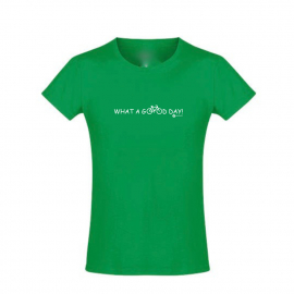 T-Shirt - What a good day! - in 6 tollen Farben