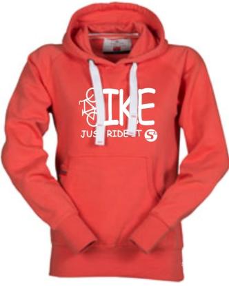 ORIGINALS Hoody-Sweatshirt BIKE-Just ride it! - für Jugendliche + Frauen in 2 Farben