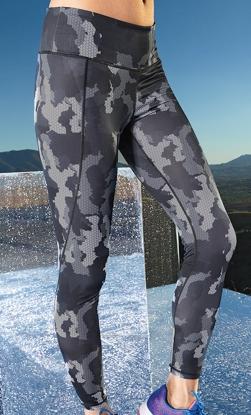 PREMIUM Sportleggings - DESIGN HEXOflage - in 2 Farben
