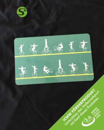 Vesperbrettchen - Hallenrad grün - ICWW Förderprodukt