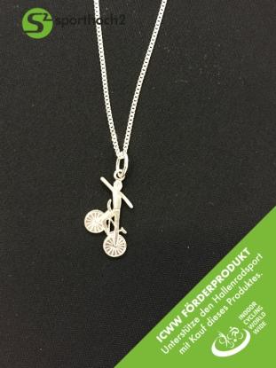 Silberschmuckanhänger mit Kette - Dornstandsteiger Art 444 - ICWW Förderprodukt
