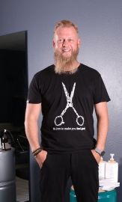 T-Shirt SCISSORS MEN - BAB Originals
