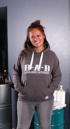 Hoodie BABGREY LADY - BAB Originals