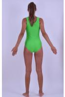 Sport-Body tiefer Rundhals / ärmellos