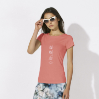 T-Shirt aus Bio-Baumwolle - Motiv namasté