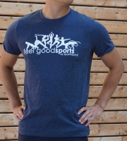 Männer - T-Shirt feel good sports - in 4 coolen Farben