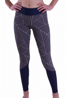 1/1 PREMIUM Sport-Tights / Leggings - Modell CUT/ Design DIAGONAL