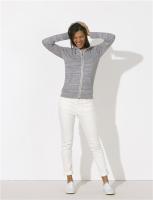 Leichte Kapuzensweat-Jacke aus Bio-Baumwolle - unisex