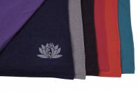 T-Shirt Rundhals Melange - FLOW / Lotus