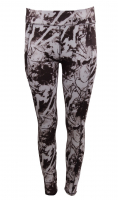 2in1- Wende - Sportleggings BLACK - Premium