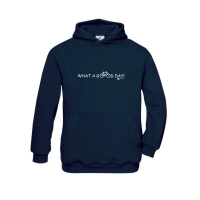 Hoody-Sweatshirt What a good Day! - für Kinder in 5 tollen Farben