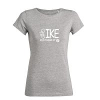 T-Shirt Premium Organic Cotton - Just ride it! - in 3 tollen Farben