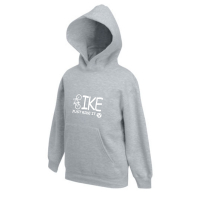 Hoody-Sweatshirt Just ride it! - für Kinder in 4 tollen Farben