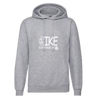 Hoody-Sweatshirt BIKE-Just ride it! - für Jugendliche + Frauen in 2 Farben