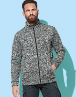 Active Knit Fleece-Jacke STED Men - in 3 Farbstellungen!