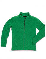 MÄNNER Active Knit Fleece-Jacke STED Men - in 3 Farben - BIKE EDition!
