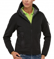 AKTION - KNIT THERMO Funktions-Jacke mit Teddy-Fleece - RIPTIDE LADY