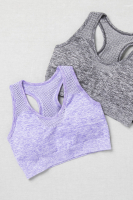 Sports Bra SEAMLESS /Crop Top / Sport-BH / Fitness-Top - in 3 Farben