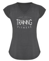 Frauen Funktions-Trainings- T-Shirt AVUS - TRAINING EDITION