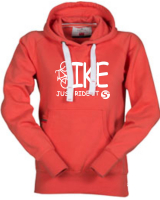 ORIGINALS Hoody-Sweatshirt BIKE-Just ride it! - für Jugendliche + Frauen in 2 Farben
