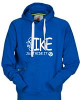 ORIGINALS Hoody-Sweatshirt BIKE-Just ride it! - für Jugendliche + Männer in 2 Farben