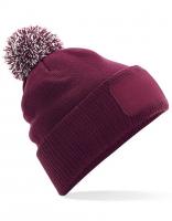 Sportive Bommelmütze / Beanie SNOWSTAR - in 3 Farben erhältlich