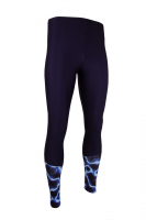 MÄNNER - Sportleggings PREMIUM CUT - Design ILUMI BLUE S2-1127000IL