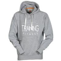 ORIGINALS Hoody-Sweatshirt TRAINING - Fitness pur! - für Jugendliche + Männer in 2 Farben