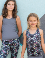 2in1 Wende Sports-Top ETRO - Kids + Ladies - Fitness-Work-out