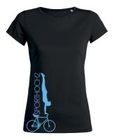 Grafik - T-Shirt - CYCLING - Lenker-Handstand vorwärts!