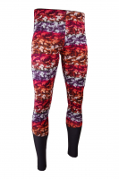 MÄNNER - Sportleggings PREMIUM CUT - Design CAMOUFLAGE RED