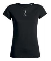 Grafik - T-Shirt - CYCLING - Sattel-Lenkerstand silber
