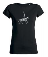 Grafik - T-Shirt - VAULTING - Kubi Voltigierer