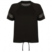 MESH COOL BLACK Training Shirt