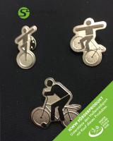 Ansteck-PIN - Kunstrad - ICWW Förderprodukt