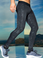 CAMOU BLACK Sportleggings KIDS - PREMIUM Tight