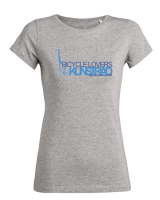 Frauen T-Shirt -Kunstrad - bicycle lovers! - in 2 tollen Farben