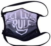 1er PACK / Mund-und Nasen-Maske - Modell HI STD DESIGN /LET LOVE RULE - Sonderproduktion