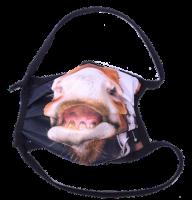 1er PACK / Mund-und Nasen-Maske - Modell HI STD DESIGN /PFERDESCHNAUZE - Sonderproduktion