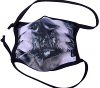1er PACK / Mund-und Nasen-Maske - Modell HI STD DESIGN /HUNDESCHNAUZE - Sonderproduktion