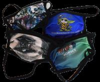 1er PACK / Mund-und Nasen-Maske KIDS - Modell HI STD DESIGN FRESH JUNGLE- Sonderproduktion