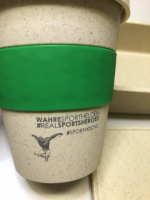 NASH TO GO Bambus Kaffeebecher wiederverwendbar HERO-Edition - #Travel/Technik