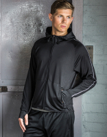 MÄNNER - Active Sports Hoody Jacke Slogan - Running/Training