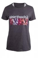 Limited Camouflage Sport T-Shirt - anthrazit-grau-melange